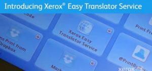 Xerox easy translation